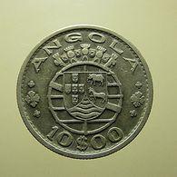 Portuguese Angola 10 Escudos 1952 Silver - Portugal