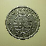 Portuguese Moçambique 5 Escudos 1960 Silver - Portugal
