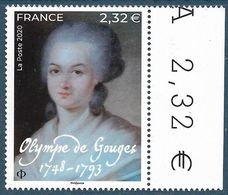 Olympe De Gouges BDF (2020) Neuf** - France