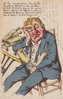 ALCOOL. ANTI-ALCOOLIQUE..  A LA CINQUIEME BOUTEILLE - Humor
