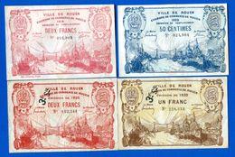 Rouen  4  Billets - Handelskammer