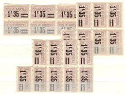 France Colis Postaux YT N° 39 X 20 Timbres Neufs ** MNH. TB. A Saisir! - Parcel Post