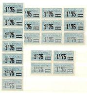 France Colis Postaux YT N° 41 X 20 Timbres Neufs ** MNH. TB. A Saisir! - Parcel Post