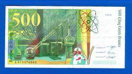 500 Fr  1994 - 1992-2000 Aktuelle Serie