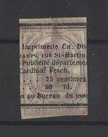 FRANCE.  YT  Journeaux N° 1  Obl 1868 - Periódicos