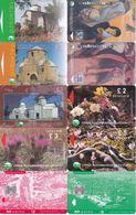10 Télécartes CHYPRE Lot1 - Chypre