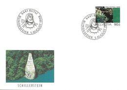 "70 - 83 - Enveloppe Avec Oblit Spéciale ""Bundesfeier 1998 Rütli"" - Marcofilia"
