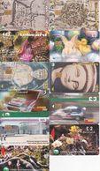 11 Télécartes CHYPRE Lot2 - Chypre