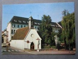 CP 57 Moselle  BITCHE La Chapelle De L'étang ND De La Pitié Et L'hôpital St Joseph En Bordure De La Départementale D662 - Bitche
