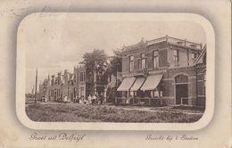 Groet Uit Delfzijl - Gezicht Bij 't Station - Delfzijl