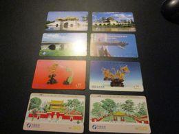 Lot De 8 Télécarte Phonecard Chine China - China