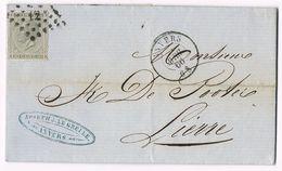 Brief - Lettre : Anvers  21/04/1866 (zegel - Timbre N° 17) - Autres