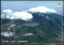 1 AK Äquatorial-Guinea * Blick Auf Die Insel Annobon - Luftbildaufnahmr * - Guinea Equatoriale