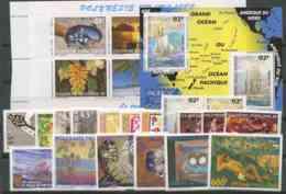 Polynesie Annees Completes (1997) N 524 A 554 Et BF 22 (Luxe) - Polynésie Française
