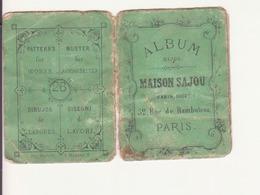 """Album Bijou """"maison SAJOU"""" Paris - Publicités"""