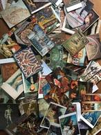 Lot De 250 Cartes - Oeuvres De Musées, France, Italie, Autriche, Grèce, Espagne, Etc... Religieux, Artistique. - 100 - 499 Cartes