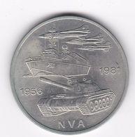 Rb_ DDR - 10 Mark - 1981 - 25 Jahre Nationale Volksarmee (53) - [ 6] 1949-1990 : RDA - Rép. Démo. Allemande