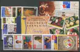 Polynesie Annees Completes (1999) N 578 A 609 Et 24 (Luxe) - Polynésie Française