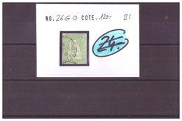 SUISSE - RAPPEN No SBK 26G OBLITERE - COTE: 120 CHF à 10% De La Cote - 1854-1862 Helvetia (ongetande)