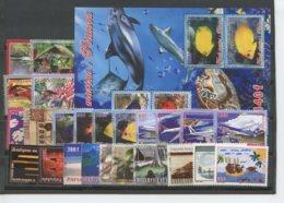 Polynesie Annees Completes (2005) N 738 A 760 Et BF 31 - Polynésie Française