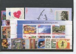 Polynesie Annees Completes (2006) N 761 A 797 Et BF 32 (Luxe) - Polynésie Française