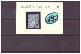 SUISSE - RAPPEN No SBK 23Cc OBLITERE - COTE: 120 CHF à 10% De La Cote - 1854-1862 Helvetia (ongetande)