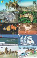 10 Télécartes OMAN Lot1 - Oman