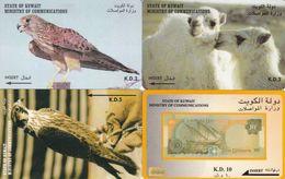 4 Télécartes KOWEIT Lot2 - Koweït