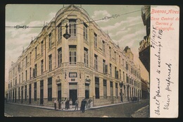 BUENOS AIRES  CASA CENTRAL DE CORROS Y TELEGRAFOS - Argentine