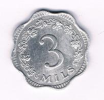 3 MILS 1972  MALTA /5558/ - Malta