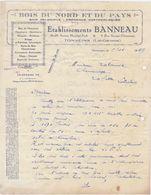 Lot Et Garonne, Tonneins, Ets. Banneau, Bois Nord Et Pays, Coloniaux.. 1939 - 1900 – 1949