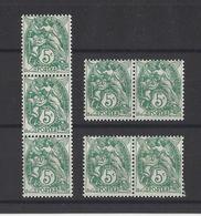 FRANCE  YT  N° 111  Neuf **  1900 - 1900-29 Blanc