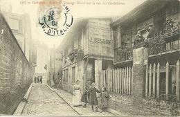 75  PARIS PASSAGE MORET SUR RUE CORDELIERES 1905 ANIMATION JOLI PLAN A VOIR - Distrito: 13
