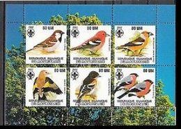 104. MAURITANIA  2002 STAMP S/S BIRDS, SCOUTS . MNH - Mauritania (1960-...)