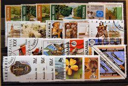 Tanzania   - Small Batch Of 25 Stamps Used - Tanzania (1964-...)