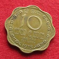 Sri Lanka 10 Cents 1975 KM# 140   *V1 - Sri Lanka