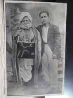 Carte Photo Curiosité De RAS EL AIN Le Vieux Hadji Abo Aissa âgé De 120 Ans !!! - Syria