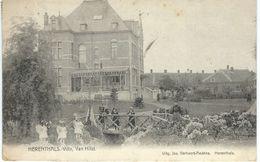 HERENTHALS - HERENTALS : Villa Van Hilst - TRES RARE VARIANTE - Cachet Poste 1909 - Défaut Pli Coin Supérieur Gauche - Herentals