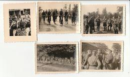 5x Foto SA Eupen, Belgique - 1939-45