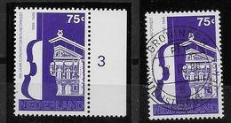 Nederland - 1988 - Yv.1322 -  **  En O  - 100 Jaar Concertgebouw. - Periodo 1980 - ... (Beatrix)