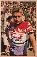Jacques Anquetil Ploeg St Raphael Ploeg SOLO Wielrenner Coureur Cycliste Cyclista Wielrennen Cycling Cyclisme Chromo CPA - Cycling