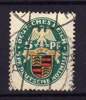 ALLEMAGNE Reich 1926 Blason Yv 390 Obl - Deutschland