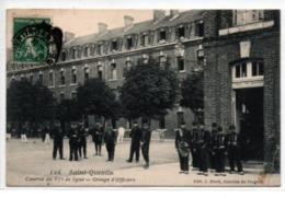 Saint-Quentin- Caserne Du 87° De Ligne-groupe D'Officiers - Saint Quentin