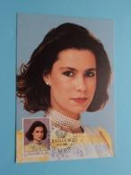 S.A.R. La Grande-Duchesse Héritière MARIA TERESA 29-3-1988 ( See / Voir Photo ) Jour D'Emission / FDC - Courvoisier ! - Grand-Ducal Family