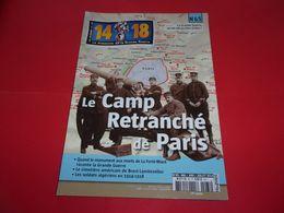 """REVUE ,""""14/18"""",n°65,camp Retranché De Paris,soldats Algériens,etc,ENVOIS GRATUIT - 1914-18"""