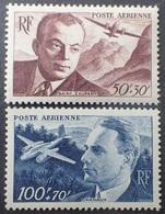 R1319/126 - 1947 - POSTE AERIENNE - SAINT EXUPERY / DAGNAUX - N°21 à 22 NEUFS** - TRES BON CENTRAGE - Airmail