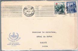 España, 1951, Palma De Mallorca-Geneve - 1931-Oggi: 2. Rep. - ... Juan Carlos I