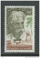 Dahomey  N° 355 XX  Centenaire De La Naissance Du Docteur Albert Schweitzer Sans Charnière,  TB - Benin - Dahomey (1960-...)