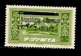 Grand Liban Maury N° 98b Variété Surcharge Arabe Renversée Neuf *. B/TB. A Saisir! - Gross-Libanon (1924-1945)