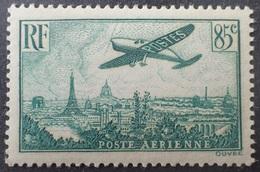 R1319/128 - 1936 - POSTE AERIENNE - AVION SURVOLANT PARIS - N°8 NEUF** TRES BON CENTRAGE - Airmail